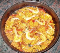 Arroz a la marinera II