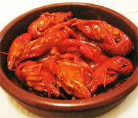 Cangrejos De Río Con Tomate Y Picante